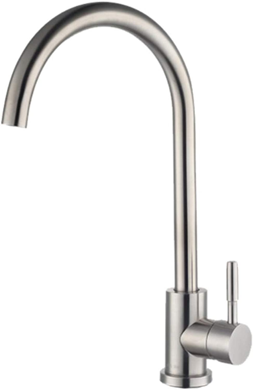 304 Stainless Steel Kitchen Faucet hot and Cold wash menu, Cold Water Faucet, Sink, Sink, Universal Swivel Faucet.