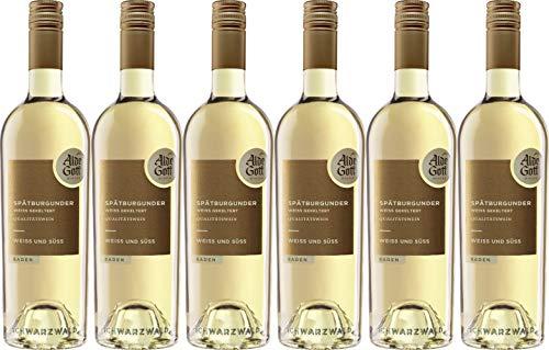 Alde Gott Winzer Schwarzwald Spätburgunder Weiß&Süß weiß gekeltert Qualitätswein 2020 Süß (6 x 0.75 l)