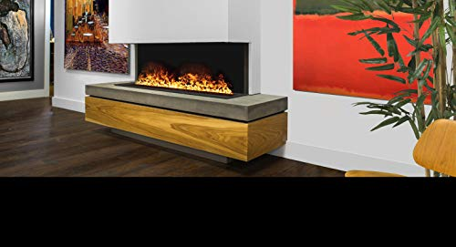 AFireWater Premium Water Vapor Fireplace - Remote Control Flame - 30 Realistic Flame Colors - iOS/Android APP Enabled. UL Listed - AWP-20-50 20' Unit/AWP-40-100 40' Unit/AWP-60-150 60' Unit (60 inch)