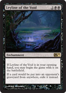 Leyline of the Void - Magic 2011 (M11) - Rare