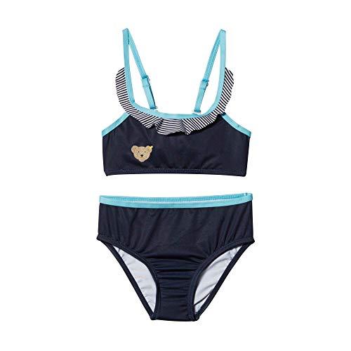 Steiff Bikini Conjunto de baño, Azul (Black Iris 3032), 86 para Bebés