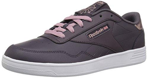 Reebok Women's Club MEMT Walking Shoe, US-Smoky Volcano/Rose GOL, 11 M US