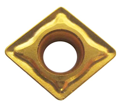 "HHIP 6000-6943 CNMG-643 Tin C5 Coated Diamond Negative Rake Insert, 3/4"" IC"