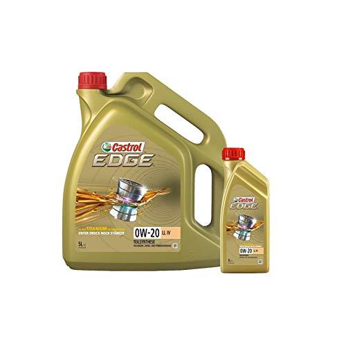 Motorenöl EDGE LL IV 0W-20 [6 L] von Castrol (SET15B1B36L) Öl Schmierung Motorenöl