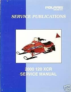 2000 POLARIS 120 XCR SNOWMOBILE SERVICE MANUAL