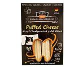 QCHEFS Queso Puffed 3er | Snack de Cuidado Dental para Perros | Mastica contra el Mal Aliento y la gingivitis | Escalador | Perros Tratar | Queso - naturalmente Antibacteriano
