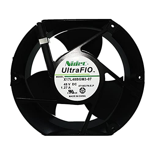 for Nidec X17L48BGM3-07 48V Selling rankings 17215051 Inverter Fan Under blast sales 1.27A