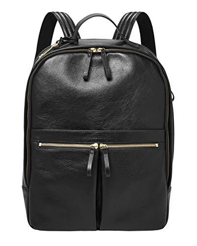 Fossil Womens TESS Backpack, Black, 29.21 cm x 10.16 cm x 39.37 cm