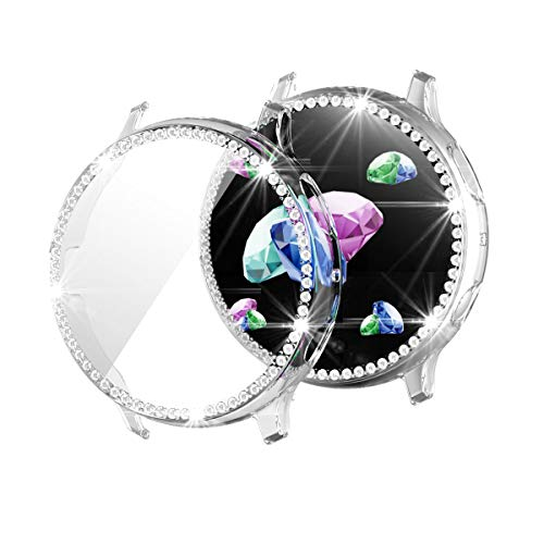 FayYang Bling - Protector de pantalla para Samsung Galaxy Watch Active 2 (40 mm, transparente)