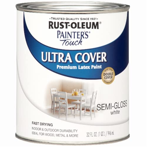 Rust-Oleum 1993502 Multi-Purpose Enamel Paint, 32 Fl Oz (Pack of 1), Semi-Gloss...