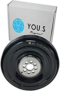 YOU.S 059105251AD Riemenscheibe Kurbelwelle Außend. 192,0 mm   Breite: 48,0 mm