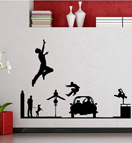 Vinyl Wandtattoos Wohnkultur Wohnzimmer Schlafzimmer Spartan Altgriechisch Krieger Schild Speer Wandbild Aufkleber 62Cmx42Cm