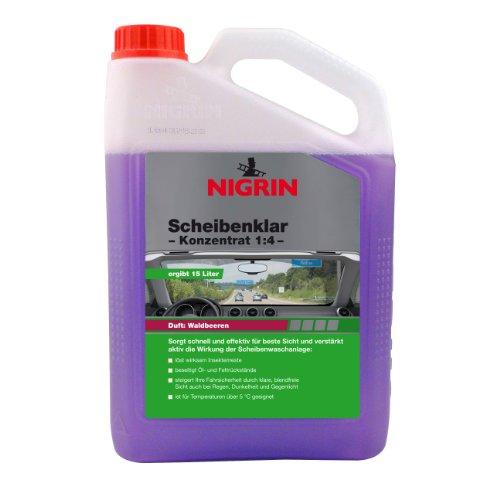 NIGRIN 73135 Scheibenklar Konzentrat Waldbeere 1:4 (15L) 3.000 ml