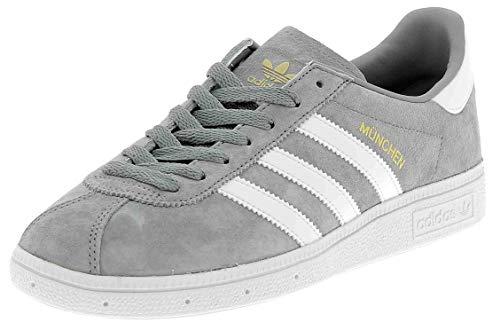 adidas Originals Munchen Mens Sports Shoes Grey