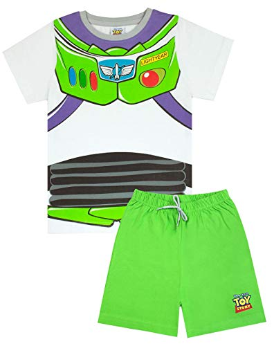 Toy Story Disney Pixar Buzz Lightyear Costume Boy's Short Pyjamas