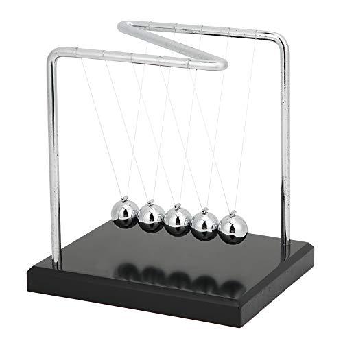 DAUERHAFT Bola de péndulo de Newton de Madera Maciza en Forma de...