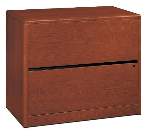 Hot Sale The HON COMPANY 2-Drawer Lateral File, 36 by 20 by 29-1/2-Inch, Henna Cherry