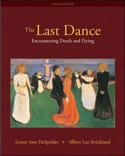 Last Dance - Encountering Death and Dying