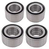 NewYall Front Rear Left and Right Side Wheel Bearings Set