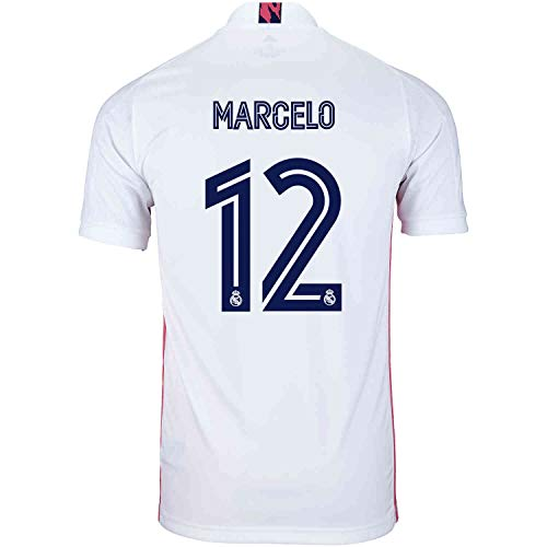 Marcelo #12 Real Madrid Home Jersey 20-21 (S) White