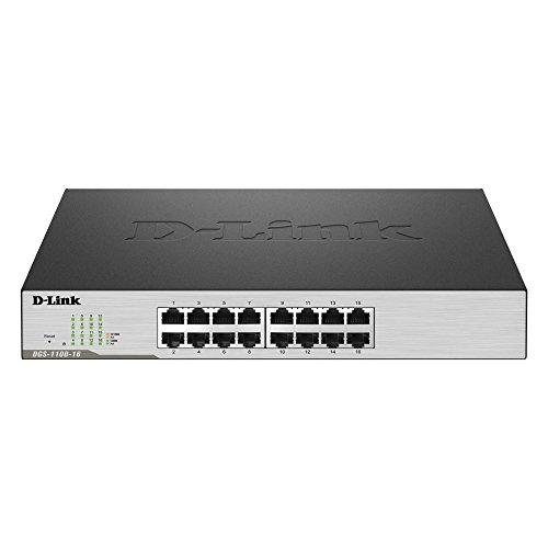 D-Link DGS-1100-16 - Switch Smart Gigabit 16 Puertos