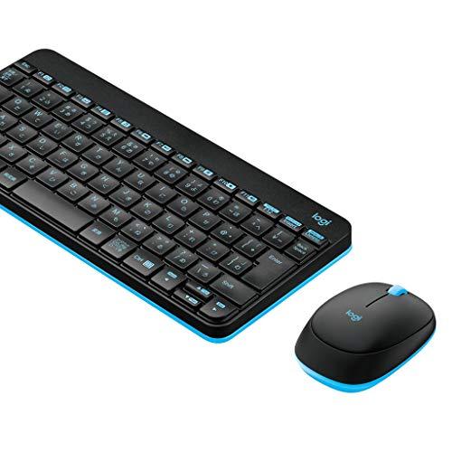 Logicool ロジクール MK245nBK ワイヤレスキーボード ワイヤレスマウス セット 無線 MK245n ソリッドブラッ...