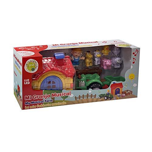 Tachan - Playset Granja Musical (CPA Toy Group 1198), rojo / azul / verde 7311198