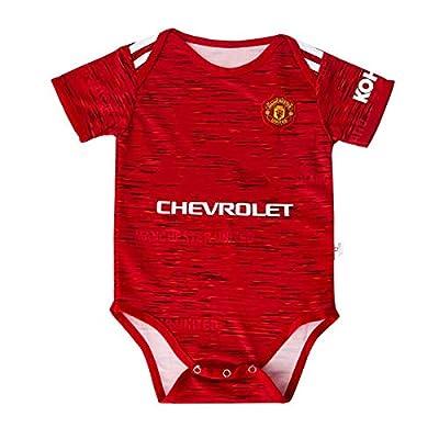 20/21 FC Fashion New Season Team Logo Baby Bodysuits Manchester United 0-9 Months