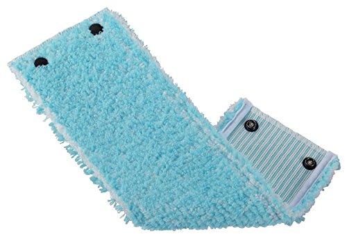Leifheit Wischbezug Clean Twist XL super soft für sensible Böden, Bodenwischer Ersatzbezug mit Spezialfasern, Wischer Ersatzbezug für minimale Wasseraufnahme, ideal für Parkett, Laminat und Kork