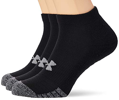 Under Armour UA Heatgear Locut, Calzini Unisex, Nero, LG