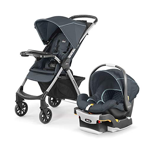 Chicco Mini Bravo Plus Travel System, color Midnight Azul Marino