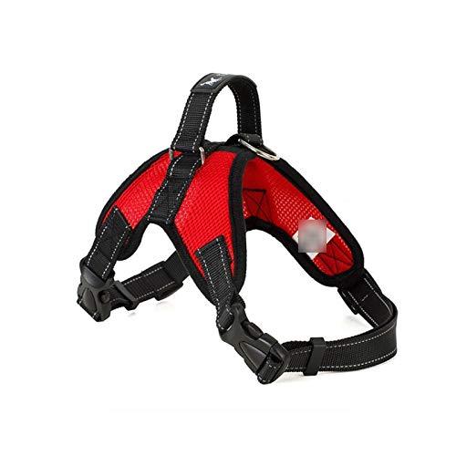 Heavy Duty Dog Pet Harness - Collar ajustable ajustable extra grande y mediana