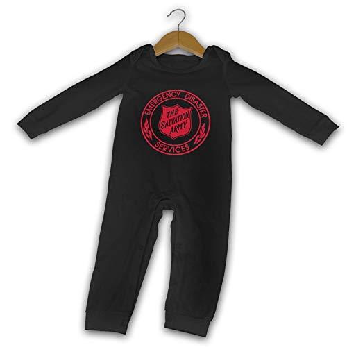 The Salvation Army Verano de Manga Larga Niñas Niños Bebé Mameluco Algodón Recién Nacido Bebé Body Suit Bebé Pijama Niño Mono