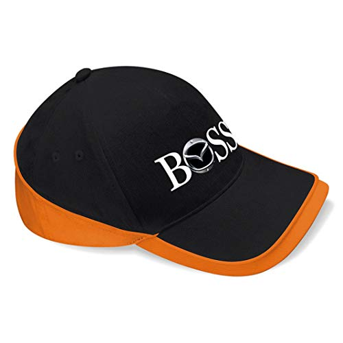shirt19 Mazda Boss Auto car Unisex Baseball Cap Mütze -k228 (Orange)