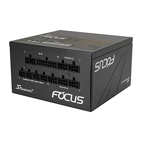 オウルテック Seasonic製 ATX電源 850W 80PLUS GOLD認証 フルモジュラー ハイブリッドファンコントロール 120mm FDBファン搭載 FOCUS GX S 10年間長期交換保証 FOCUS-GX-850S