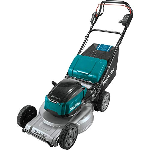"""Makita XML09Z Lithium-Ion Brushless Cordless, Tool Only 18V X2 (36V) LXT 21"""" Self-Propelled Commercial Lawn Mower, Teal"""
