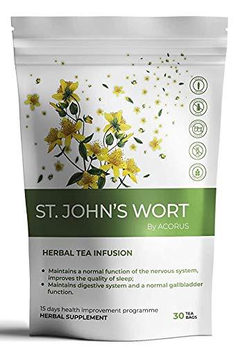 ACORUS St. John's Japan's largest assortment wort Herbal Large discharge sale Tea for · system day nervous 15