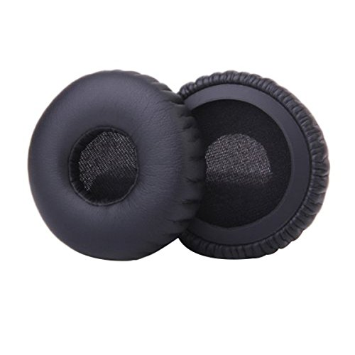 OULII Pair of Replacement Ear Pads Cushions for AKG K450 K420 K430 K451 Q460 Headphone (Black)
