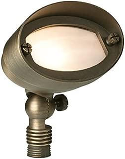 Liberty LBE-13-AB 12V Weathered Brass Oval Flood Light - LED Compatible Landscape Light