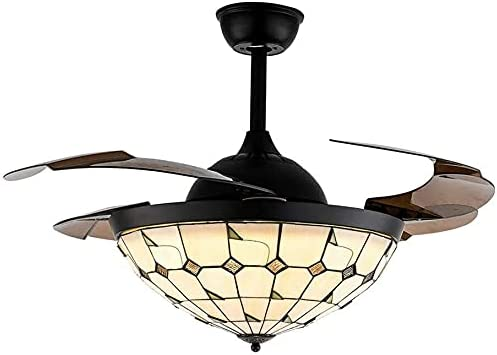CHOUREN LED Indoor ceiling fan 42 Max 61% OFF Kit Fan Ceiling Light Great interest Inch Tif