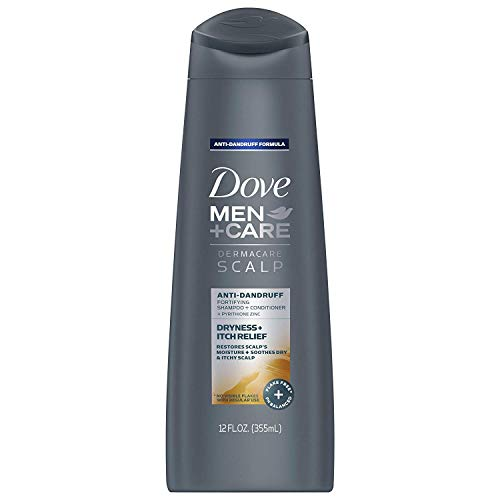 DOVE HAIR Men+Care Dermacare 2 In 1 Shampoo And Conditioner, Scalp Dryness...