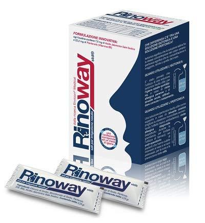 Rinoway® Sali Isotonici per Irrigazione Nasale 30 Bustine 2,25gr Envicon® Medical