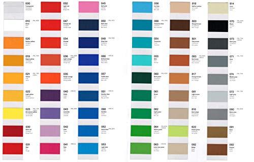 Wandschutzfolie - Küchenfolie - Farbkarte mit allen Farben