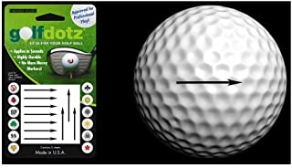 Golfdotz Golf Ball Transfers - Personalize Your Golf Ball - Accuracy