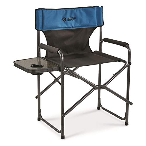 Guide Gear Oversized Tall Director's Camp Chair, 500-lb. Capacity, Blue/Black