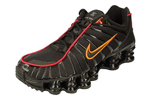 Nike Shox TL Herren Running Trainers CV1644 Sneakers Schuhe (UK 6 US 7 EU 40, Black Magma orange 001)