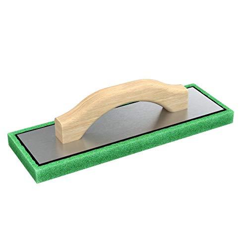Bon Tool 83-102 Green Foam Float - 4' X 12' X 3/4' Wood Handle