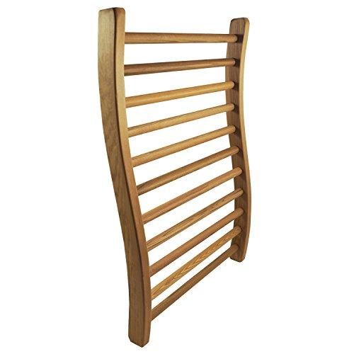 HSE Cedar S-Shape Sauna Backrest (1, Red Cedar)