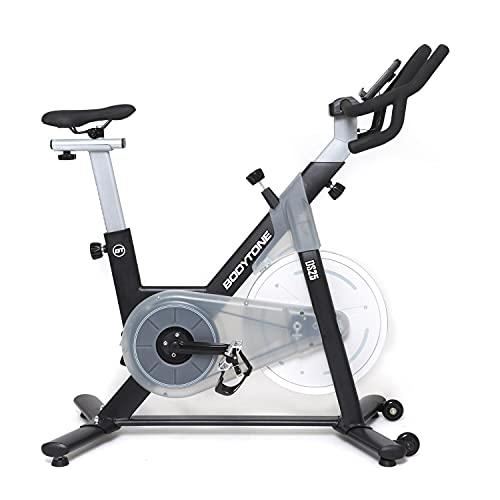 Bodytone - Bicicleta Spinning magnética | Bicicletas estaticas Gimnasio en casa Spinning | +18kg | DS25