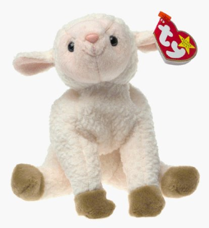Kimougha TY Beanie Baby - EWEY The Lamb [Toy]